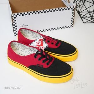 Disney X Vans Mickey Mouse Sneakers NEW W BOX